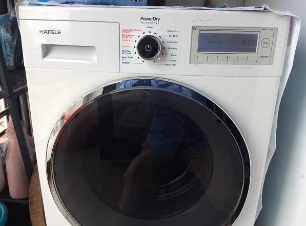 Một số lỗi hay gặp phải khi sử dụng máy giặt HAFELE